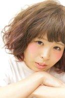 【HairDco】ウェーブボブ☆ロコル☆インナーカラーピンク