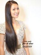 今旬!サラ艶美髪ストレートロングヘア