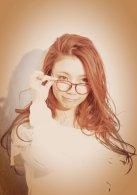 必見メガネ大人かわいい女子