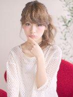 ☆月曜営業☆ojiko.ルーズ編み込みサイドアレンジ
