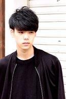 黒髪×エアリーマッシュ