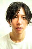 松田翔太風♪黒髪メンズボブヘアー